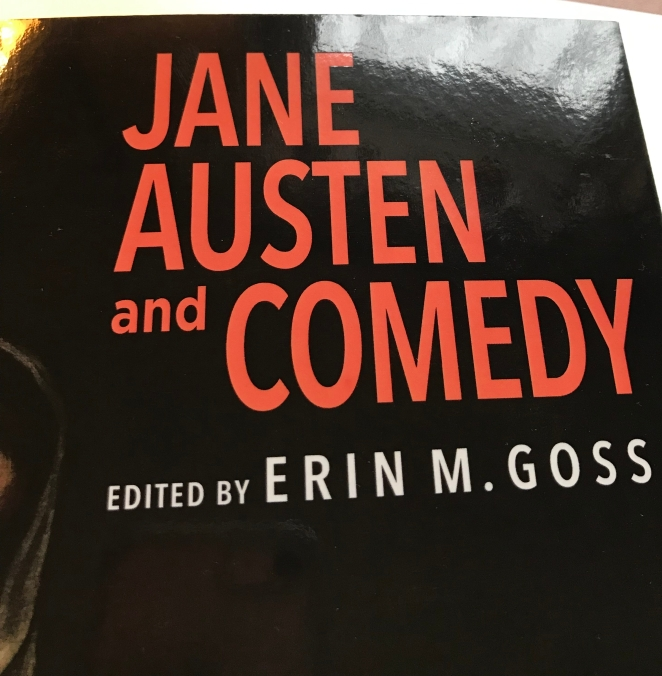 Jane Austen and Comedy cover