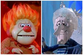 Heat Miser & Snow Miser: The Year Without a Santa Claus - See the song and  get the lyrics! (1974) - Click Americana