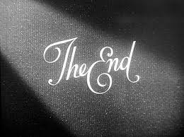 The End | Black and white aesthetic, Black and white photo wall, Black and  white picture wall
